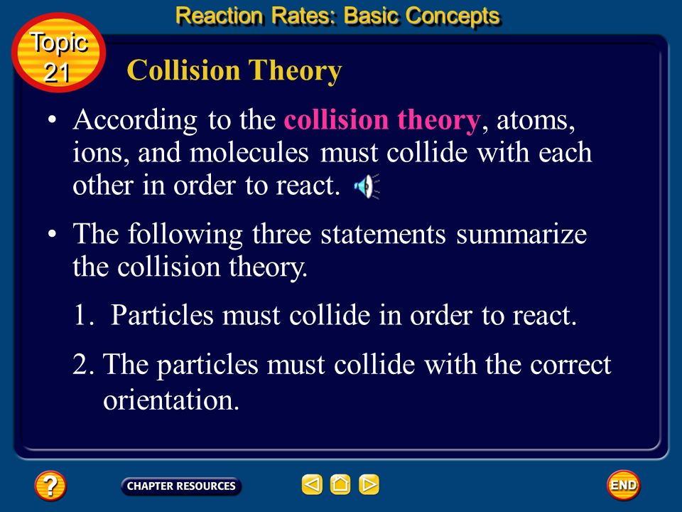 Calculating Average Reaction Rates Reaction Rates: Basic Concepts Topic 21 Topic 21