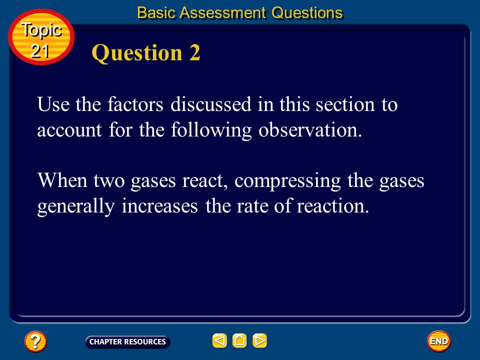 Basic Assessment Questions Answer Topic 21 Topic 21