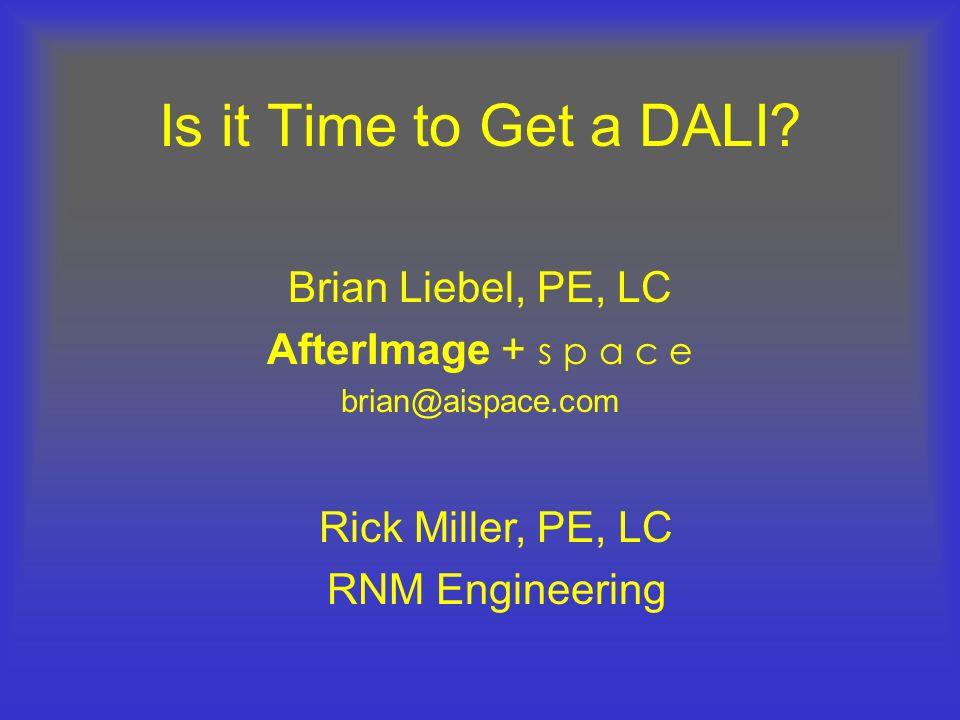 Basic Communication DALI Network Lamp DALI Ballast #32 Whats your light level, Ballast 32.
