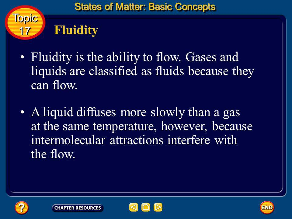 Density and compression States of Matter: Basic Concepts Topic 17 Topic 17 Like gases, liquids can be compressed. But the change in volume for liquids