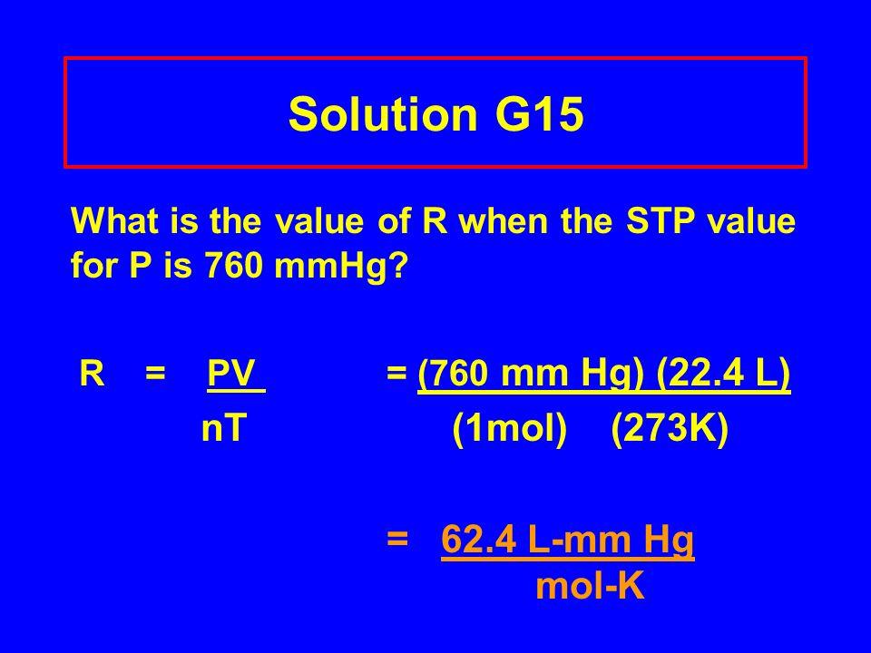 Using STP and density ( 1 L = 2.50 g) 2.50 g x 22.4 L = 56.0 g/mol 1 L 1 mol n = EF/ mol = 56.0 g/mol = 4 14.0 g/EF molecular formula CH 2 x 4 = C 4 H 8
