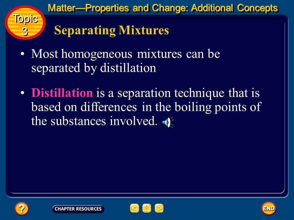 Separating Mixtures Heterogeneous mixtures composed of solids and liquids are easily separated by filtration. Filtration is a technique that uses a po