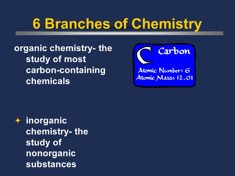Chemistry the study of the composition, structure, and properties of matter and the changes that matter undergoes Chemical any substance that has a de