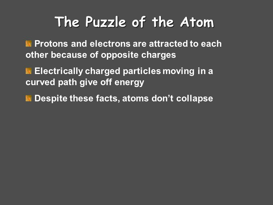 Chemistry Chapter 4 Arrangement of Electrons in Atoms The 1998 Nobel Prize in Physics was awarded