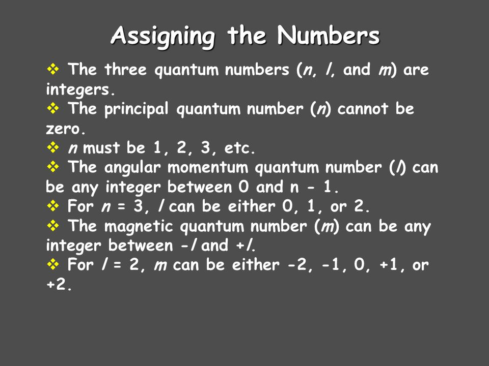 Magnetic Quantum Number The magnetic quantum number, generally symbolized by m, denotes the orientation of the electrons orbital with respect to the t