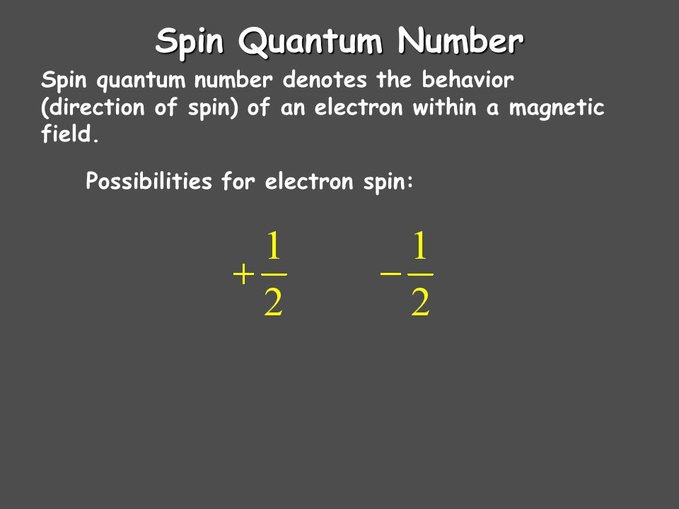 Principle, angular momentum, and magnetic quantum numbers: n, l, and m l