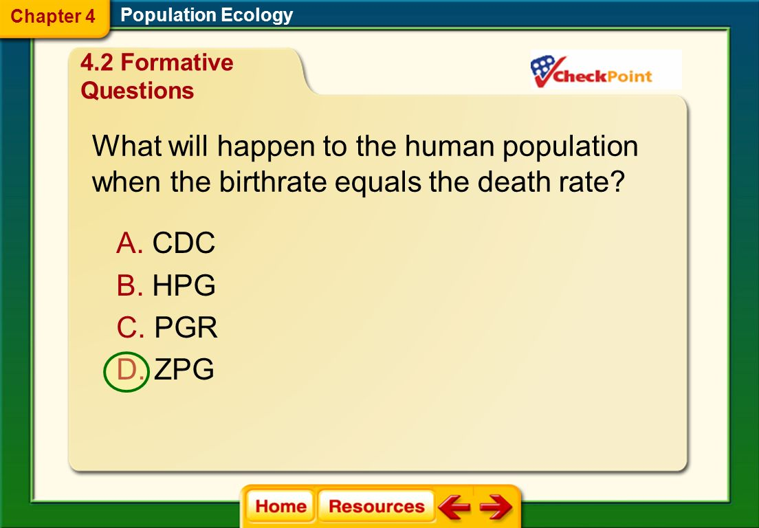 Which is a primary reason for the decline in the percent growth of the human population after 1962? A. decreased agriculture B. famine and wars C. set