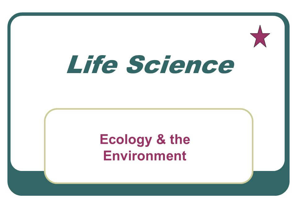 Ecology Study of the interactions that take place among organisms and their environment.