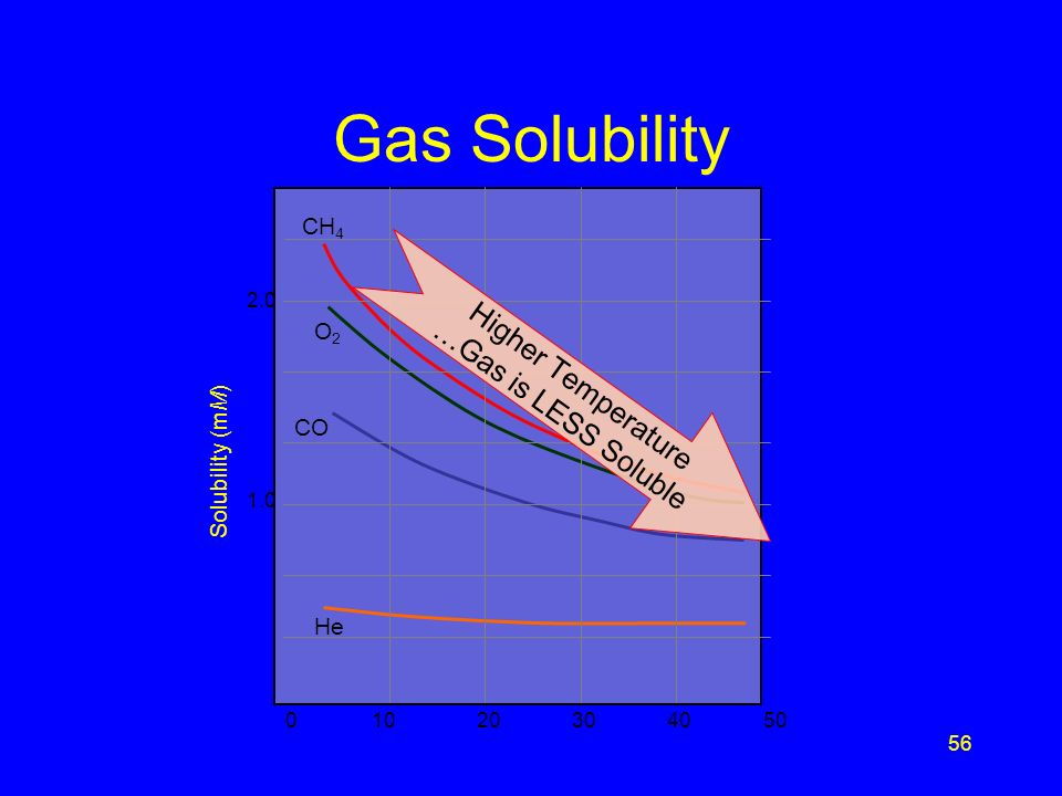 55 Solution S2 A. Gas in the bottle builds up as the gas becomes less soluble in water at high temperatures, which may cause the bottle to explode. B.