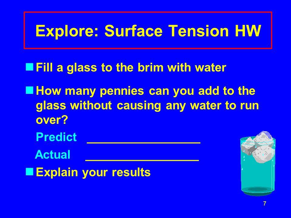 6 Hydrogen Bonds Attract Polar Water Molecules