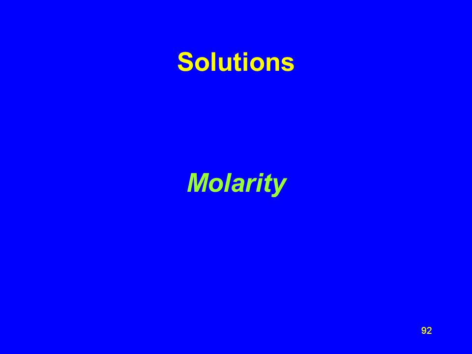 91 Solution S3 Indicate if each salt is (1) soluble or (2) not soluble: A. _1_ Na 2 SO 4 B. _2_ MgCO 3 C. _2_ PbCl 2 D. _1_ MgCl 2