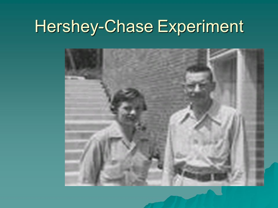 Hershey-Chase Experiment
