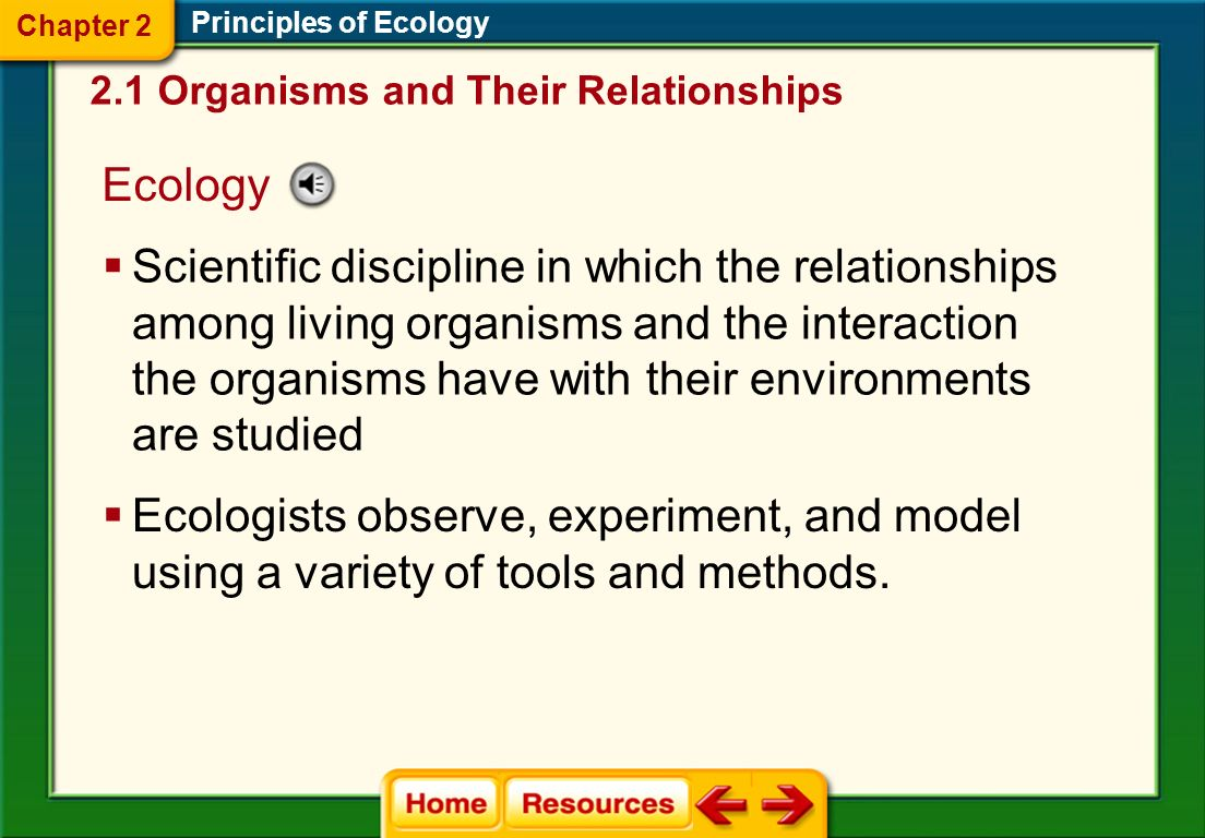 Principles of Ecology Chapter 2 Chapter Assessment Questions Answer: All organisms contain phosphorus.