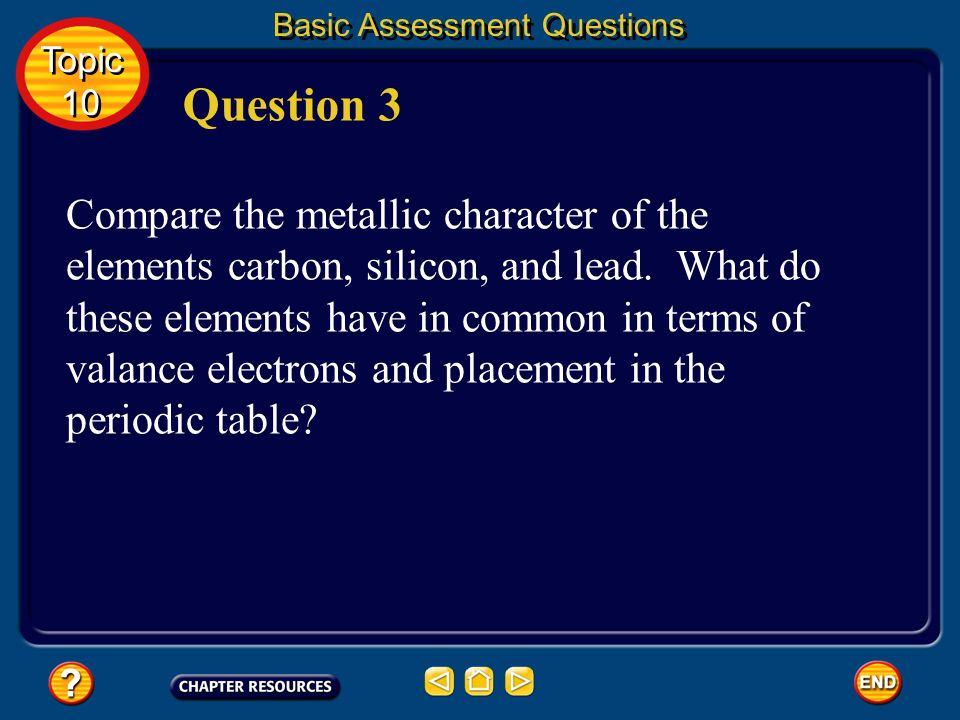 Basic Assessment Questions Answer The alkali metals have one valence electron and are in group 1A. The alkaline earth metals have two valence electron
