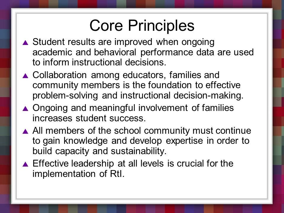 For which children/students is the Core curriculum sufficient and not sufficient, and why .