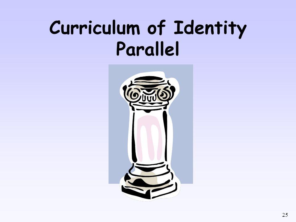 25 Curriculum of Identity Parallel