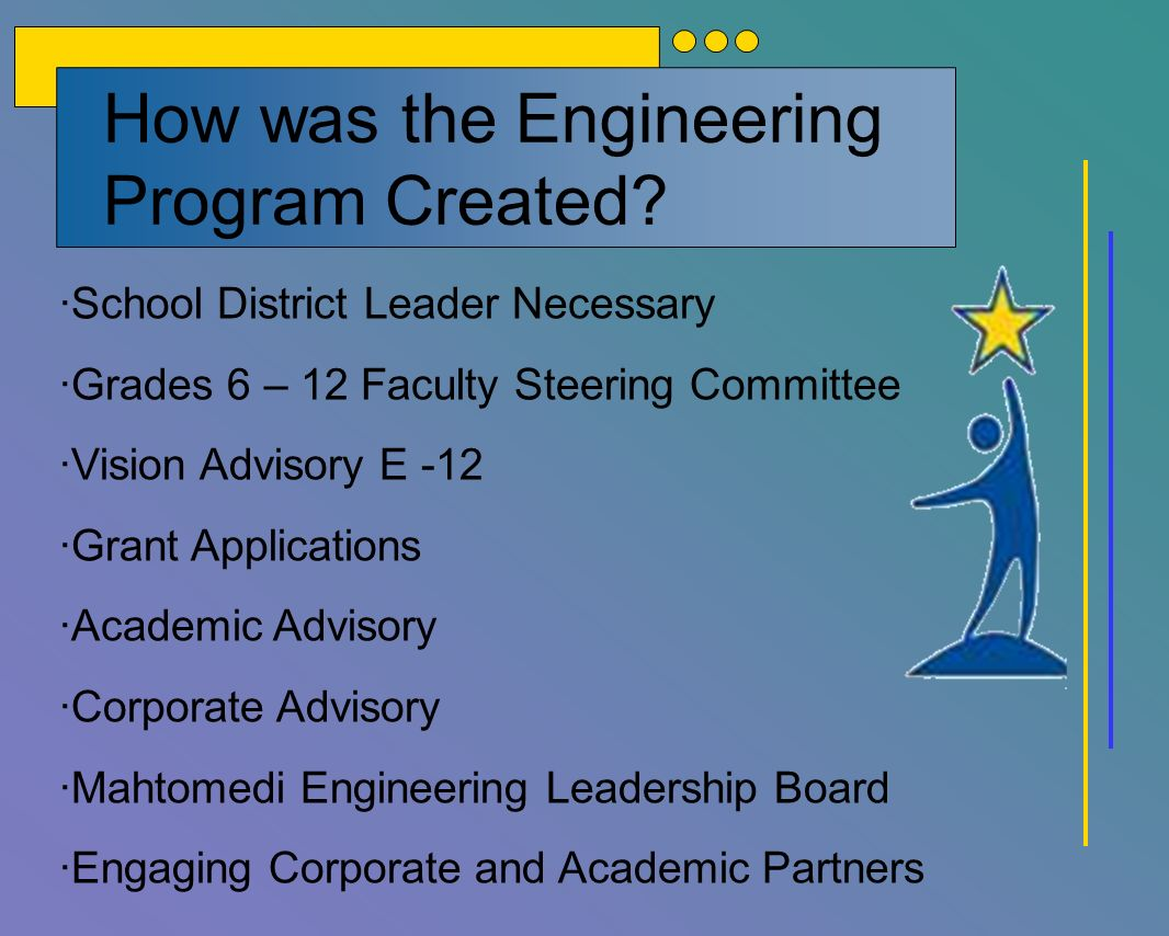 How was the Engineering Program Created.