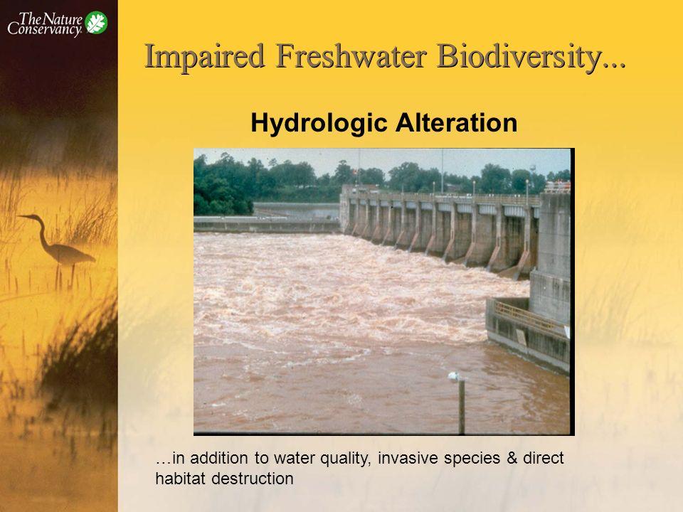 Impaired Freshwater Biodiversity...