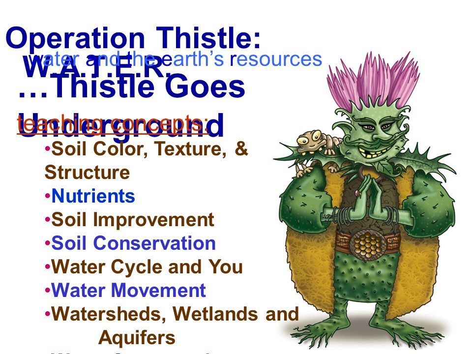 Operation Thistle: W.A.T.E.R.