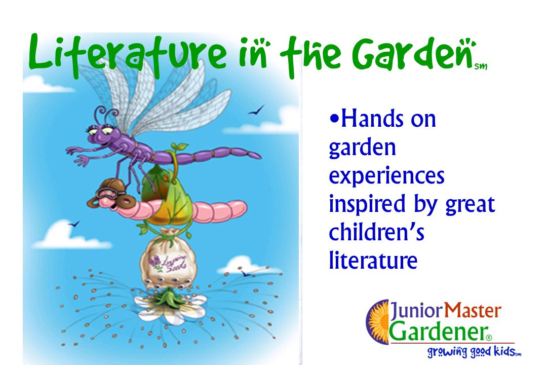 Hands on garden experiences inspired by great childrens literature