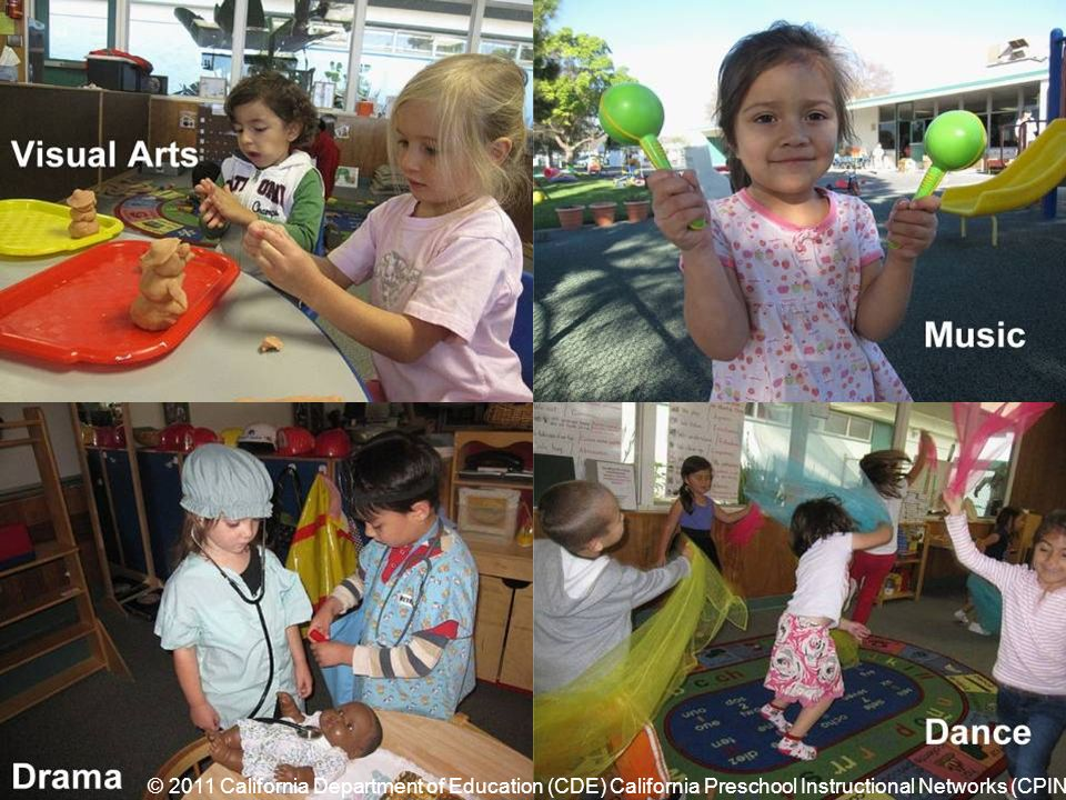 What are the Visual and Performing Arts © 2011 California Department of Education (CDE) California Preschool Instructional Networks (CPIN)