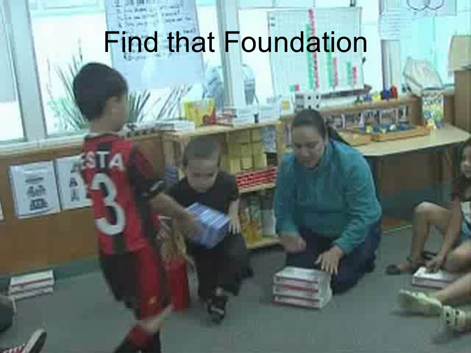 Find that Foundation