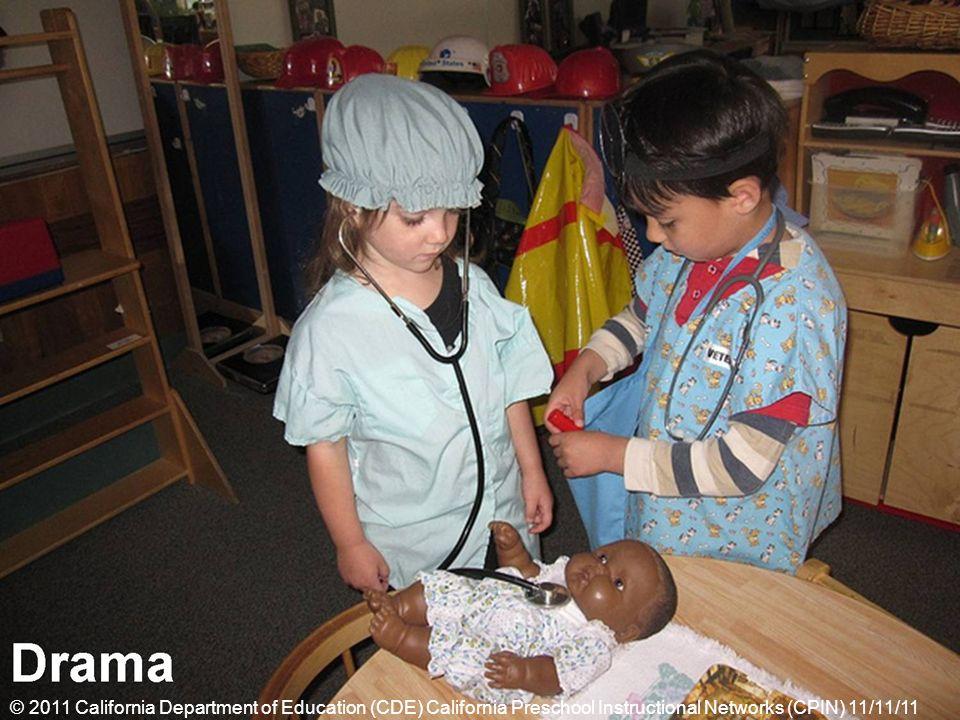© 2011 California Department of Education (CDE) California Preschool Instructional Networks (CPIN) 11/11/11