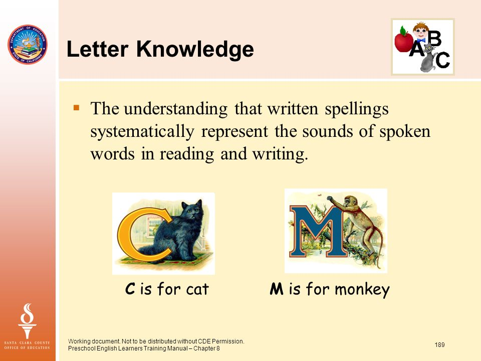 The understanding that written spellings systematically represent the sounds of spoken words in reading and writing.