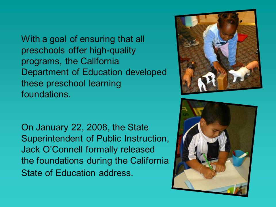 Domain Foundations Organization Age Strand Substrand Foundation English-language development foundations have Levels not Ages Social-emotional development foundations include descriptions for Foundations Examples English-language development has a Focus level below Substrands Language and literacy includes descriptions of Substrands