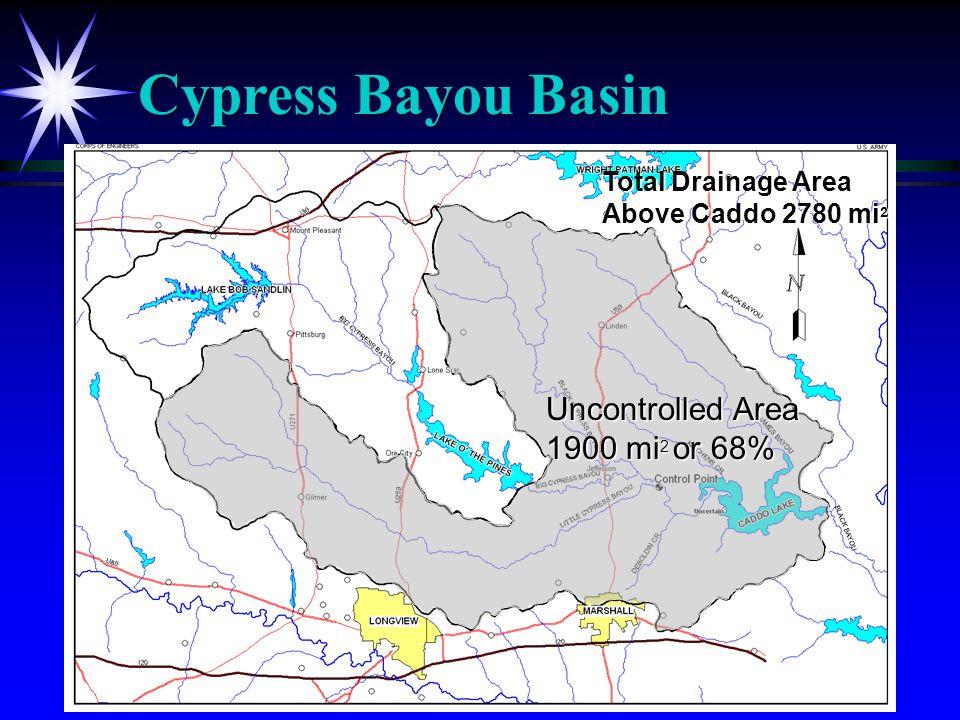 Lake O Pines Outflows (2002-2004)