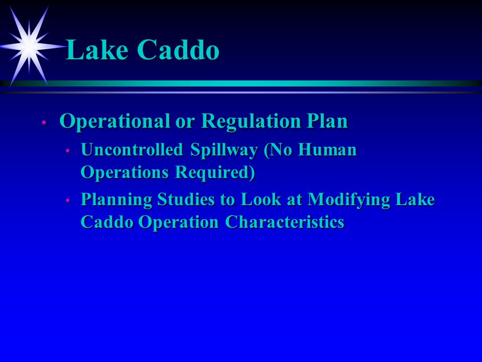 Lake Caddo Elevations (1993-2004)