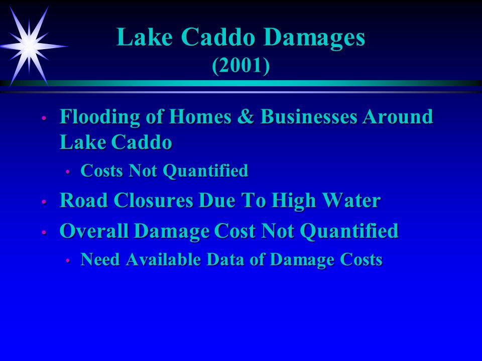 Lake Caddo Inflow