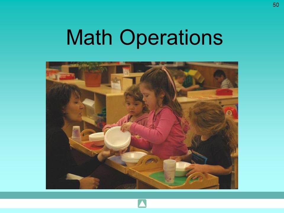 50 Math Operations