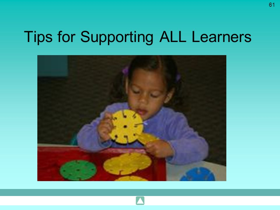 61 Tips for Supporting ALL Learners