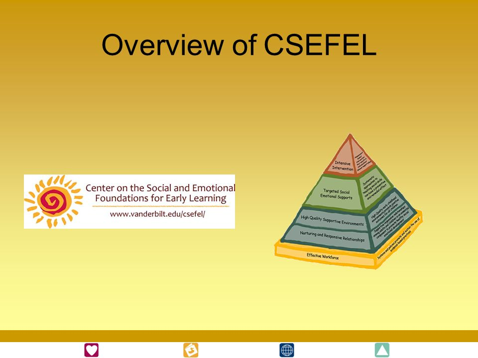 Overview of CSEFEL