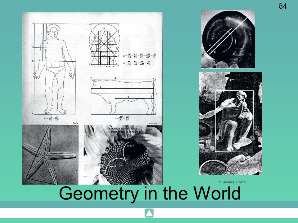 84 Geometry in the World St. Jerome, Divinci