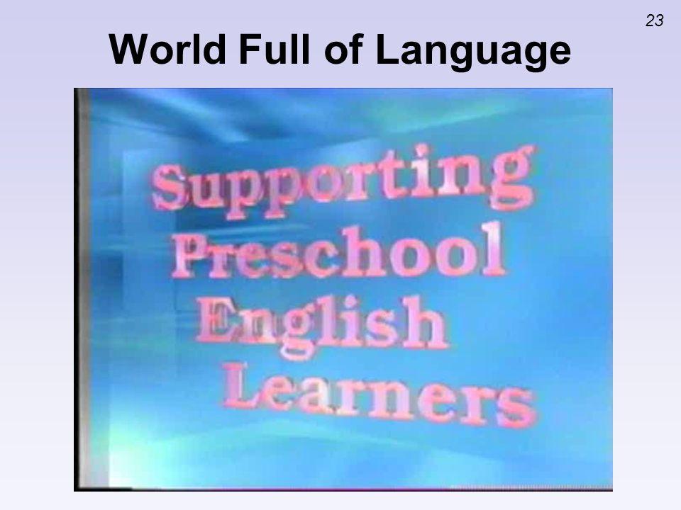 23 World Full of Language