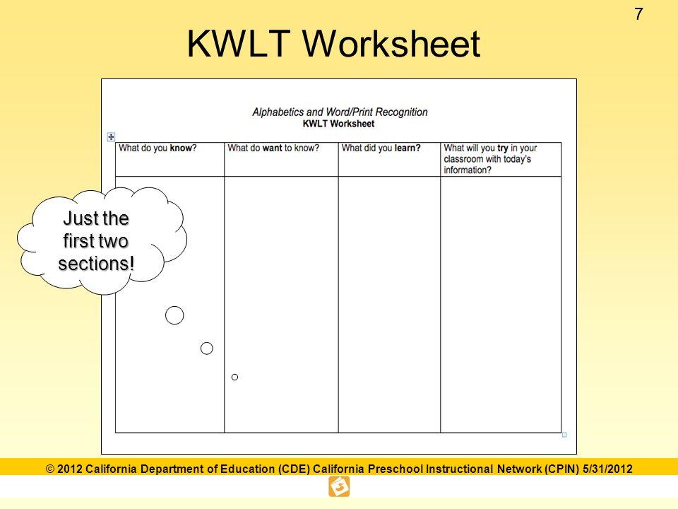 88 © 2012 California Department of Education (CDE) California Preschool Instructional Network (CPIN) 5/31/2012 The Foundations