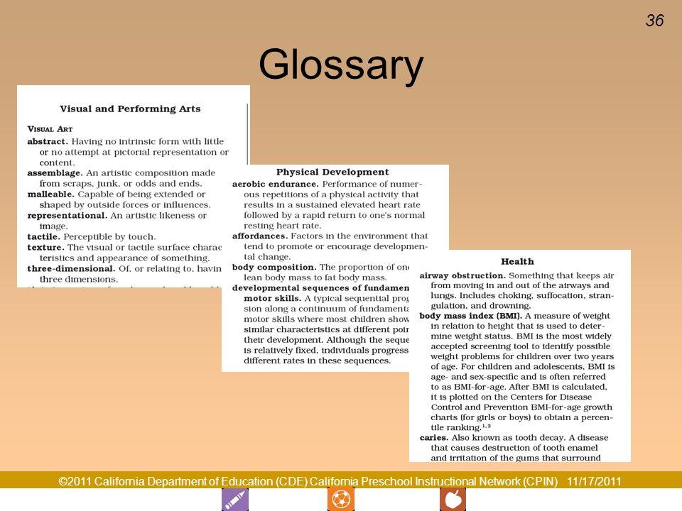 36 Glossary