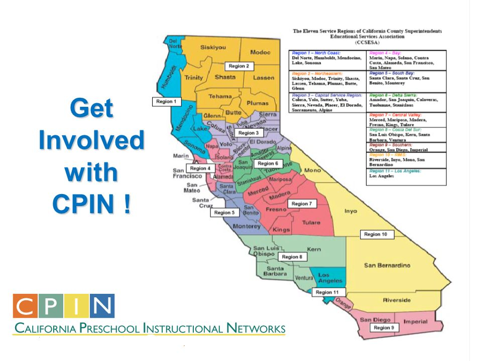 Get Involved with CPIN !
