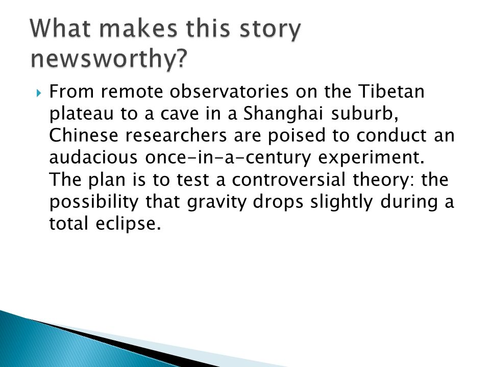 From remote observatories on the Tibetan plateau to a cave in a Shanghai suburb, Chinese researchers are poised to conduct an audacious once-in-a-century experiment.