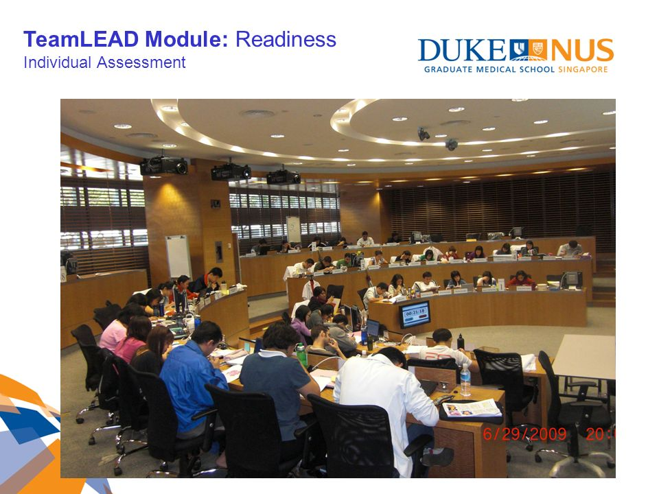 TeamLEAD Module: Readiness Individual Assessment