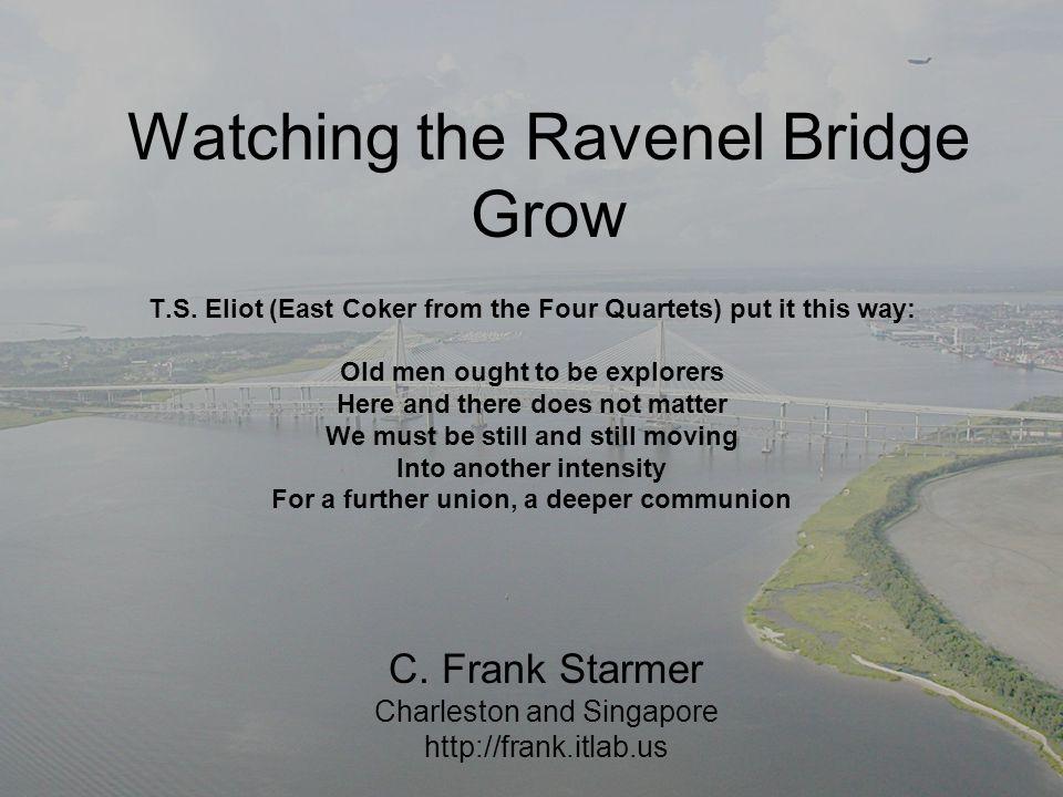 Watching the Ravenel Bridge Grow T.S.
