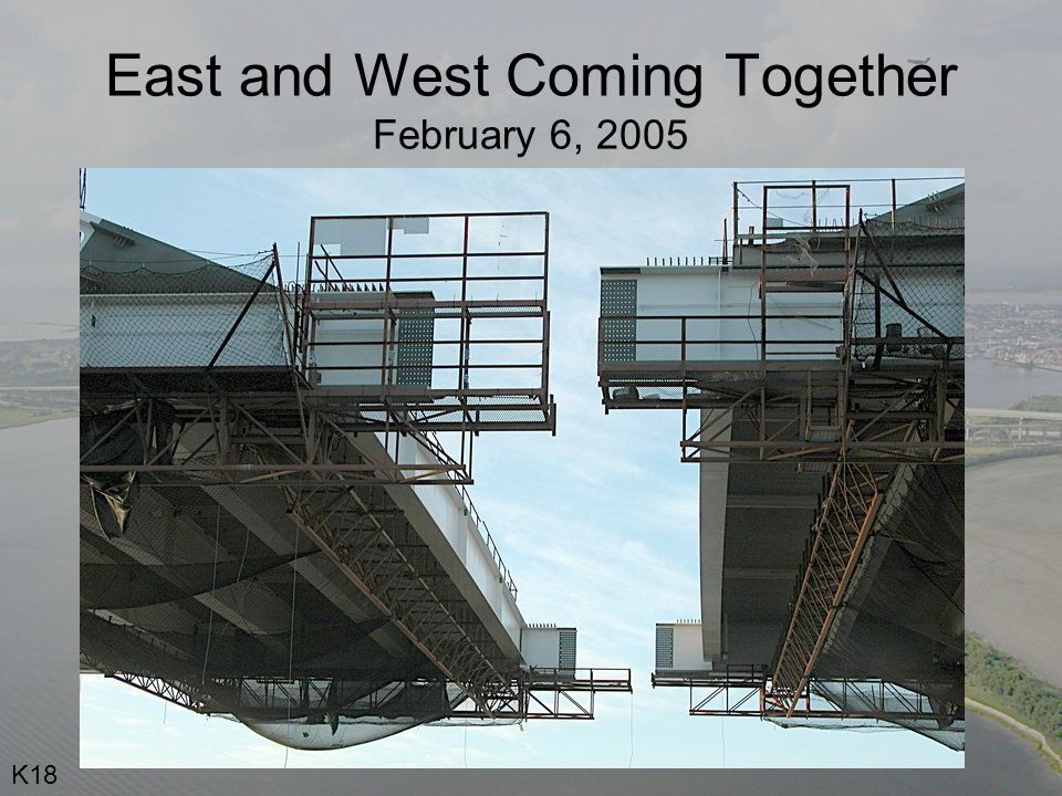 East and West Coming Together February 6, 2005 K18
