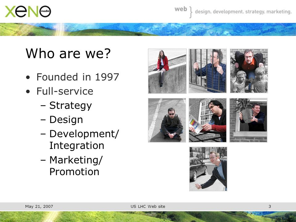 May 21, 2007US LHC Web site3 Who are we.