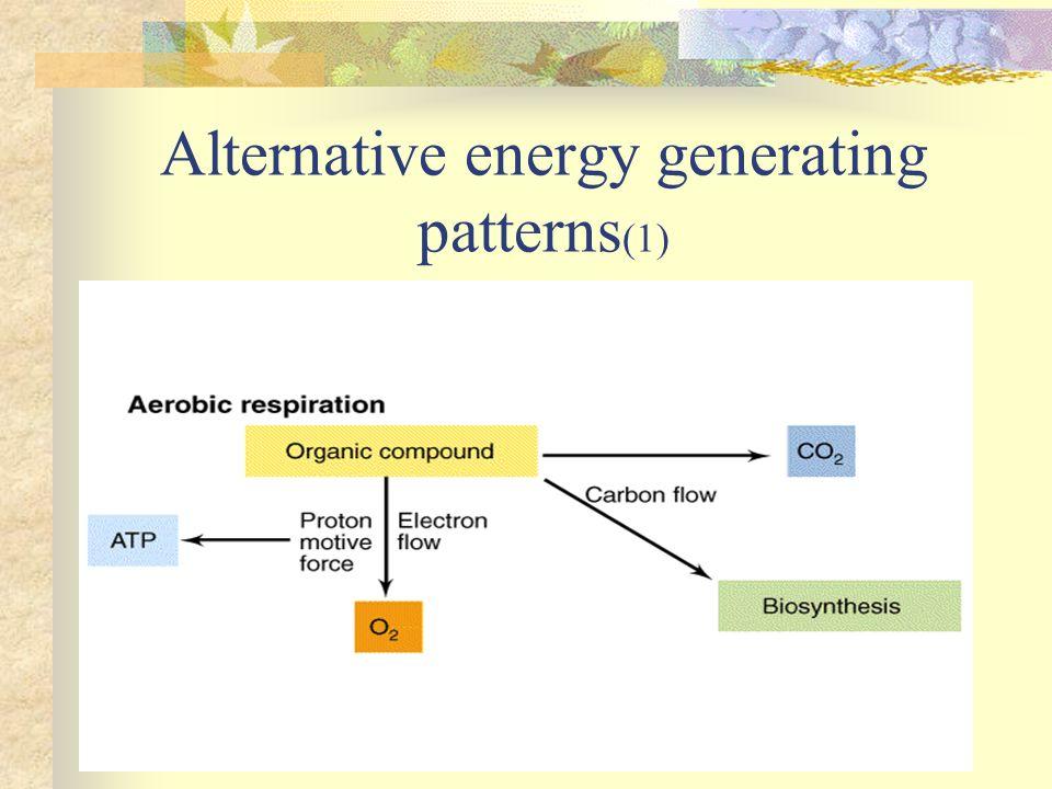 Alternative energy generating patterns (1)