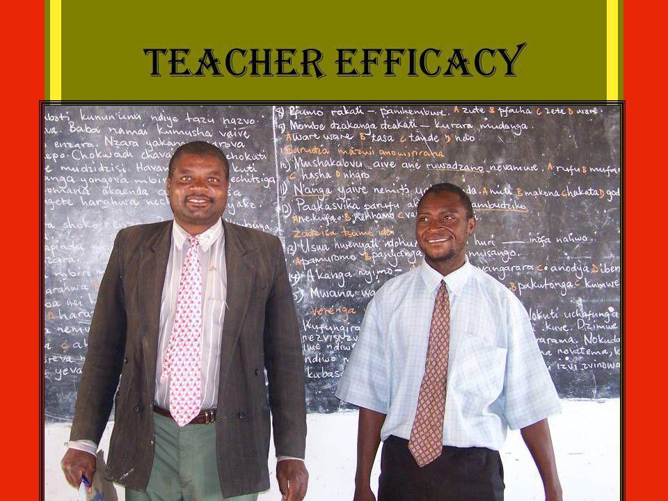 Teacher Efficacy