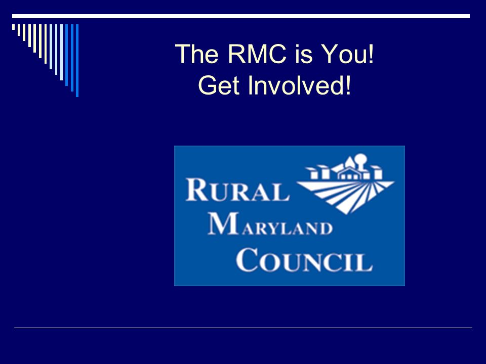 The RMC is You! Get Involved!