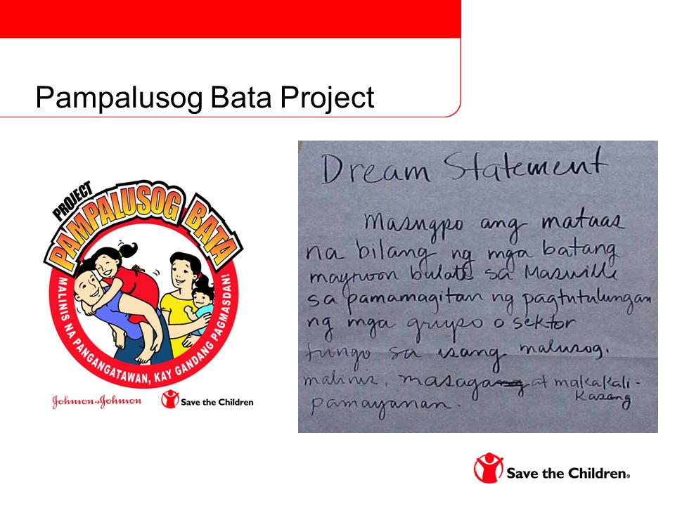 Pampalusog Bata Project