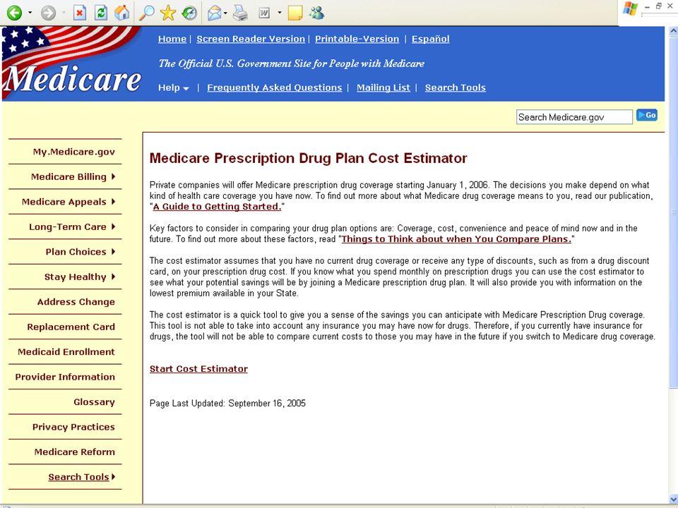10/28/05 50Medicare Prescription Drug Coverage